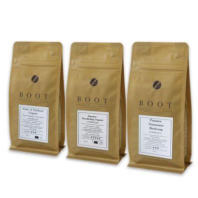 Rijk aan Avontuur - Boot gevorderdenpakket - 3-delig 250 gram Espresso