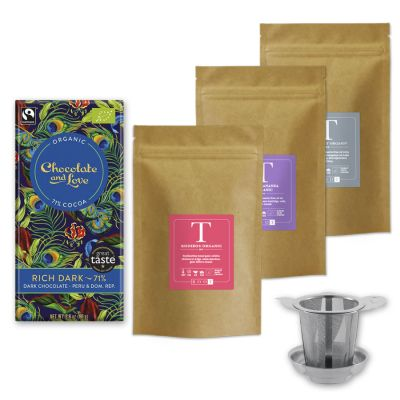 Tea Lover Pakket - Thee en Chocolade