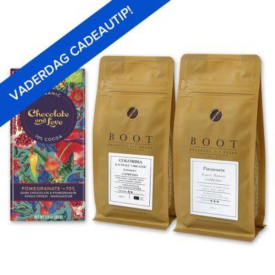 Optimaal Genieten Pakket - Koffie en Chocolade