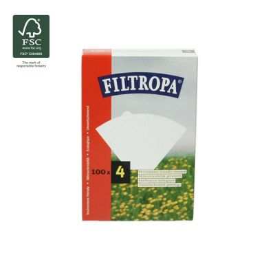 Filtropa koffiefilters nr. 4 - 100st.