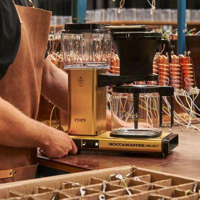Moccamaster KBG Select - Brushed Brass