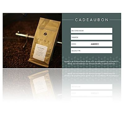 Webwinkel cadeaubon - Waarde € 25,00