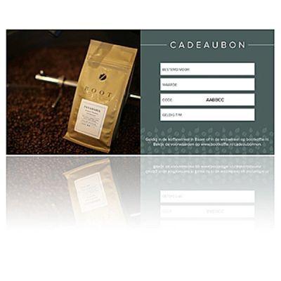 Webwinkel cadeaubon - Waarde € 75