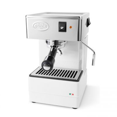 Quick Mill 820 voor losse koffie - Wit