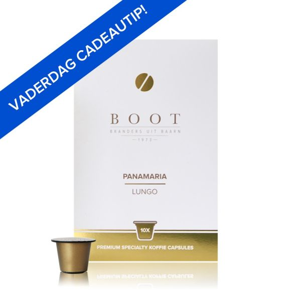 Panamaria Espresso - Lungo - Koffie Capsules - 10 stuks