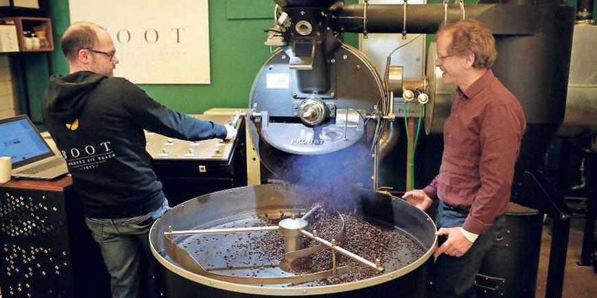 Het geluk van goede koffie