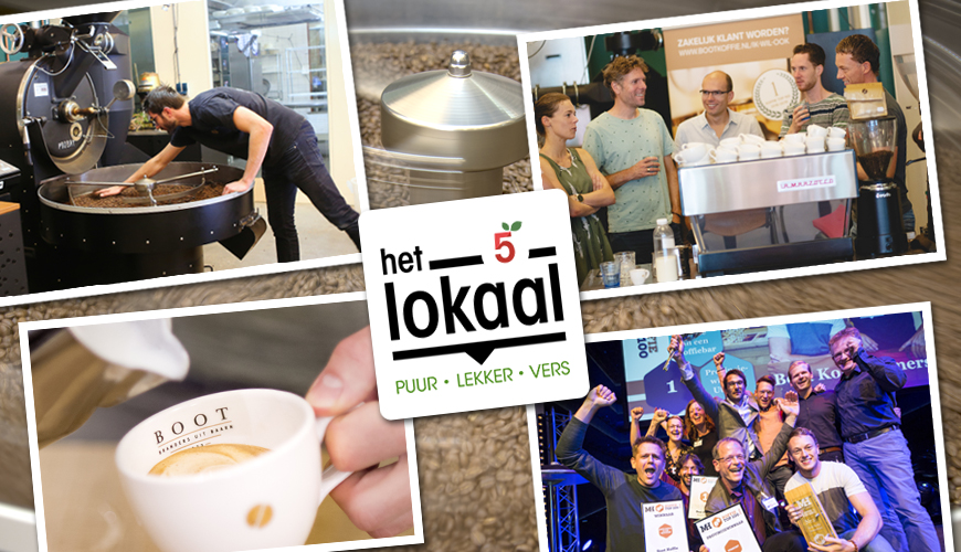 Boot Koffie & 5 jaar Het Lokaal
