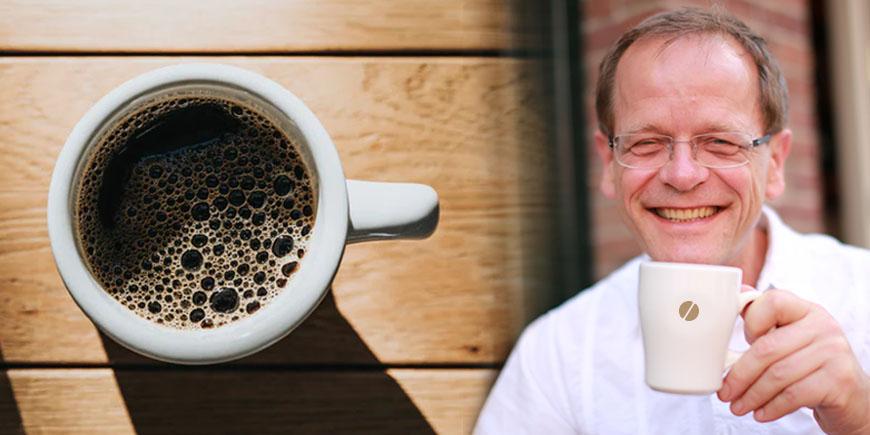 Filterkoffie drinken met Barend Boot