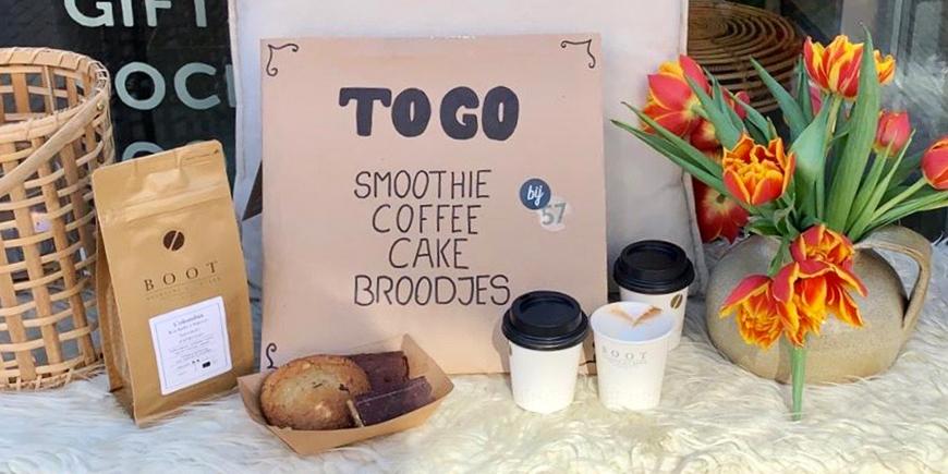 Support your local Boot Koffie verkooppunt & horeca